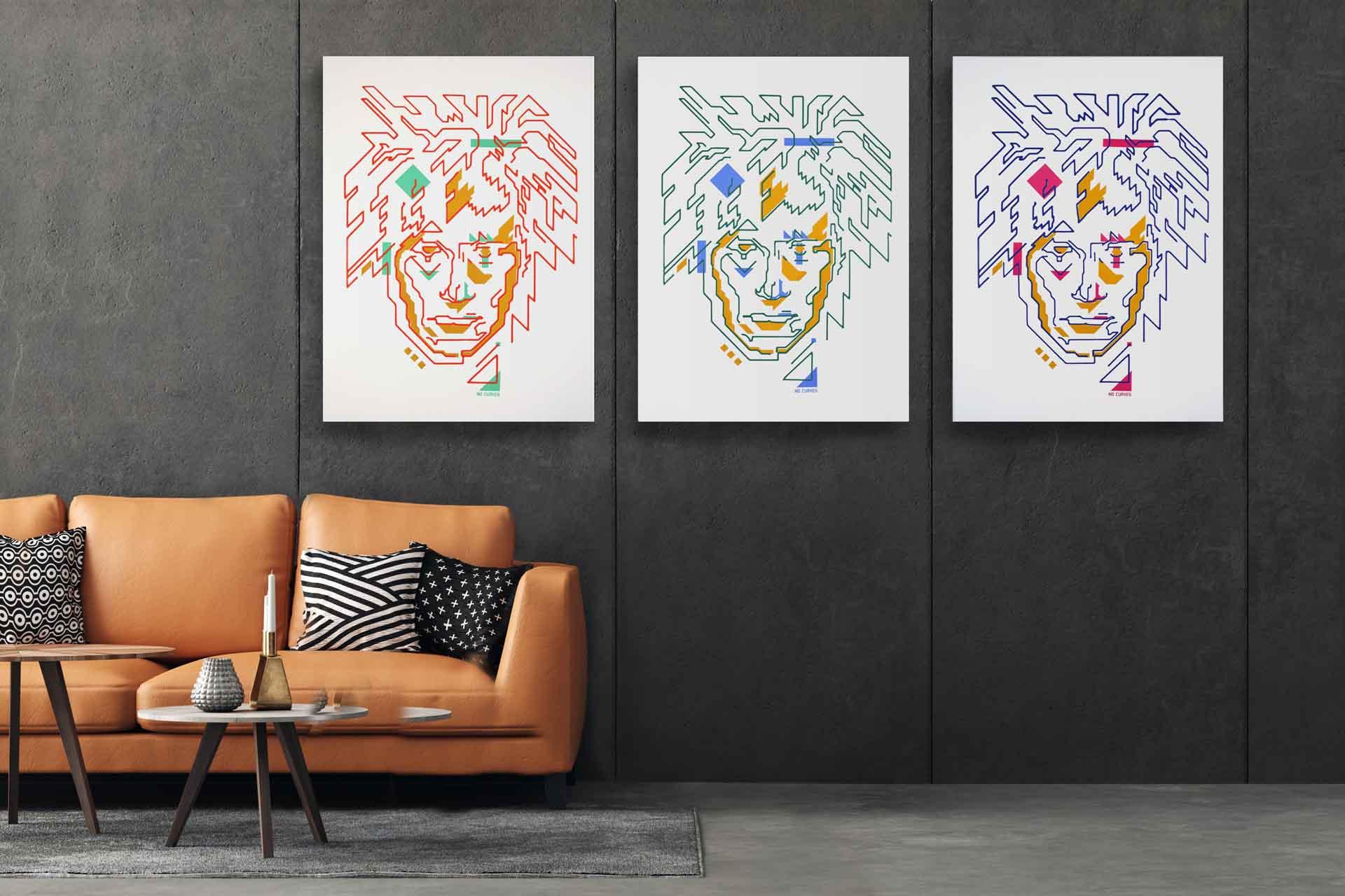 Andy_Bot, le tre opere in vendita