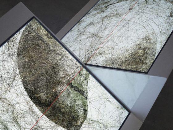 Ryoichi Kurokawa, Oscillating Continuum Sculpture, 2013